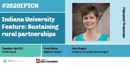 Indiana University Feature: Sustaining rural partnerships